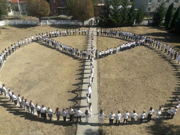 Чортків гімназія День миру