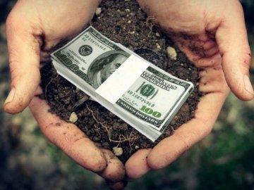 гроші, земля