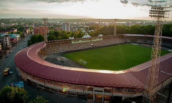 стадіон, Тернопіль, футбол