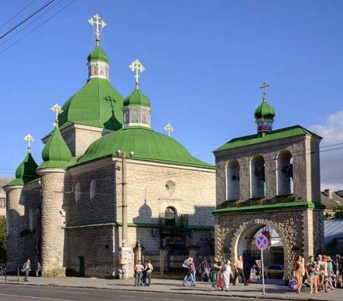 зелена церква, Церкви Різдва Христового, Тернопіль
