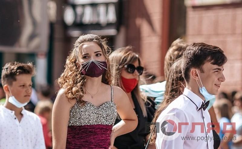 """<strong>Нові атрибути """"коронавипускного"""": оригінальні захисні маски одинадцятикласників (фото)</strong>"""