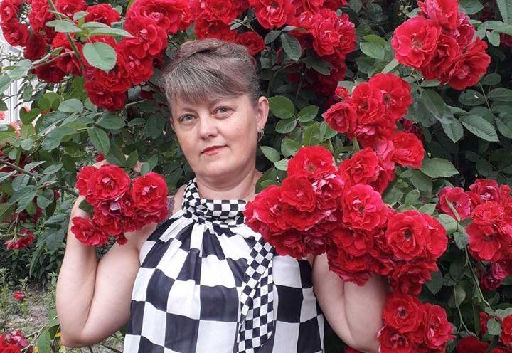 Парад троянд влаштовує Галина Моцик в селі на Тернопільщині