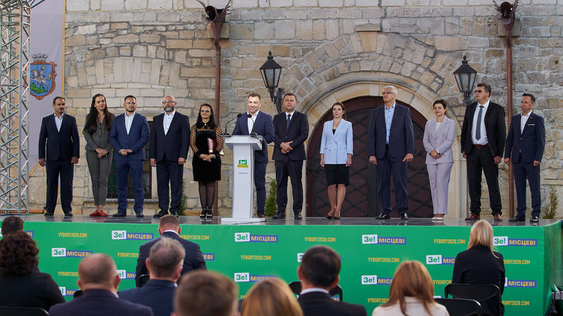 25 жовтня — ти обираєш, ти впливаєш, ти контролюєш. Перша десятка кандидатів в депутати Тернопільської облради від «Слуги Народу»