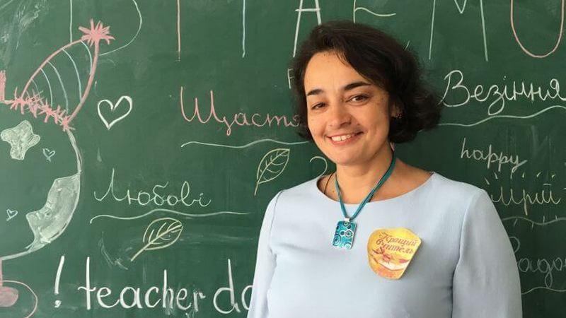 Тернопільська вчителька Людмила Серкіз стала обличчям всеукраїнської кампанії «Класний вчитель»