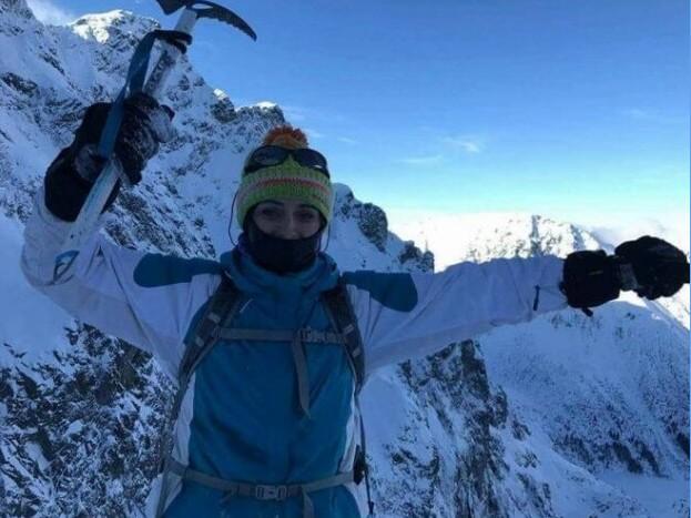 Одна-однісінька тернопільська випускниця Христя Мохнацька підкорила найвищий вулкан світу!