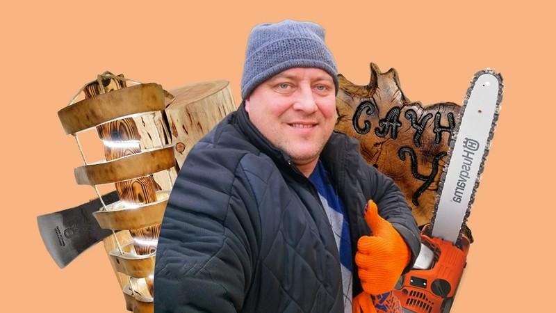 Столики з коріння дерев: як Ігор Хома з Тернополя робить меблі, які купують у Європі